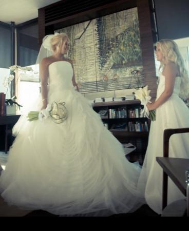 7e8fa82ba312 Vera wang design wedding dress   bridesmaid dress For Sale in Bolton ...