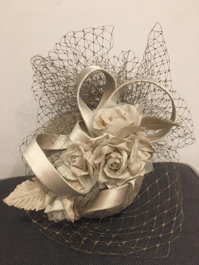 Preview of the first image of Mother of the Bride Hat / Fascinator.