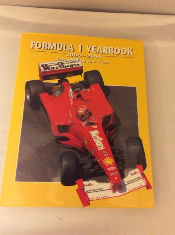 Preview of the first image of Formula 1 Yearbook 2000-2001.