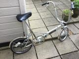Bickerton Folding Bike lite weight 23lbs from about 1983 - £80