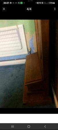 Image 4 of hallway coat hat mirror stand rack storage