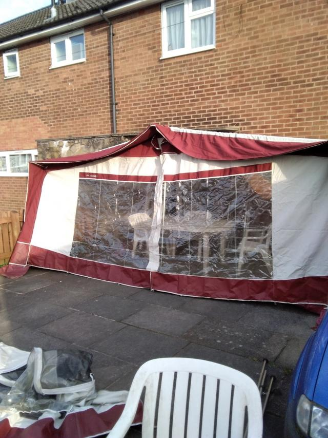 Preview of the first image of Two caravan awnings.