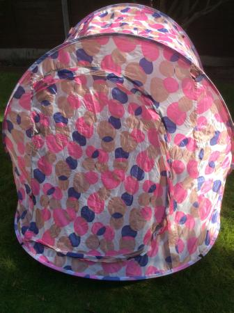 Image 1 of Pink & Purple North Gear Pop Up Two Man Tent