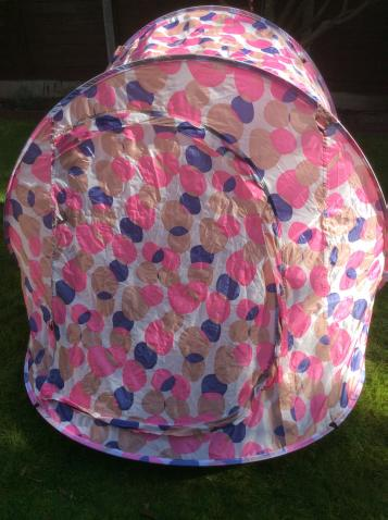 Preview of the first image of Pink & Purple North Gear Pop Up Two Man Tent.