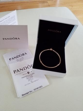 a8d2d6cea GENUINE PANDORA ladies 14 carat gold charm 19