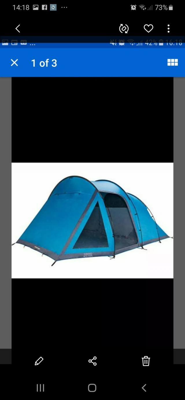 Preview of the first image of camping equipment ready to go grab a bundle..