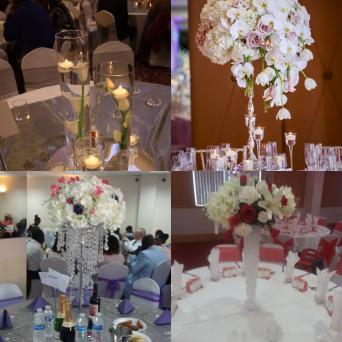 Wedding Table Centrepiece Chandelier Hire