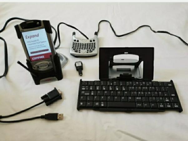 Image 4 of Compaq iPAQ Pocket PC H3950 Windows Mobile 400 MHz, Rare