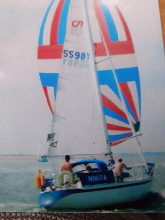 Image 21 of 30ft  yacht Nicholson 303 ,well made well thought of ,fast
