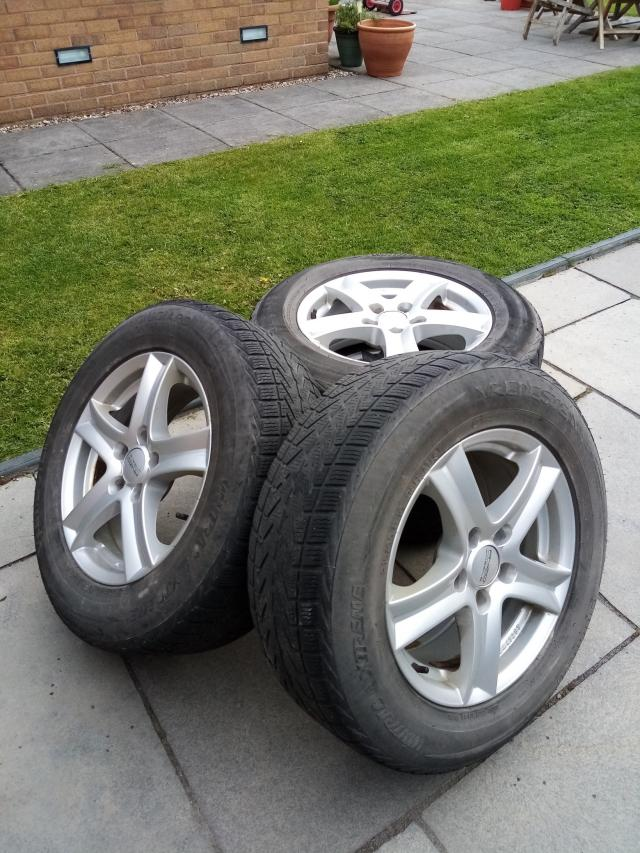 Preview of the first image of Winter Tyres and Wheels.