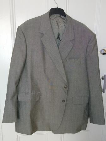 Image 1 of Mold & Russell Light Grey Bespoke Suit Jacket