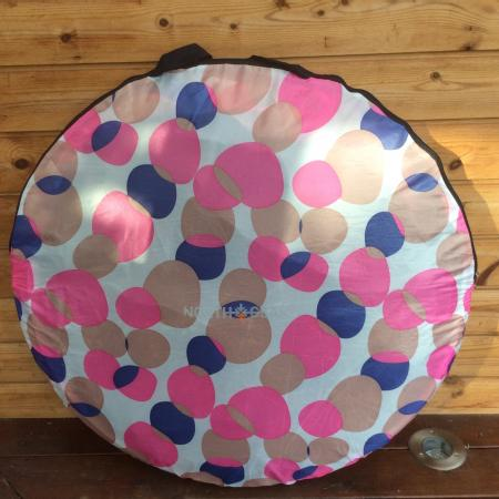 Image 2 of Pink & Purple North Gear Pop Up Two Man Tent