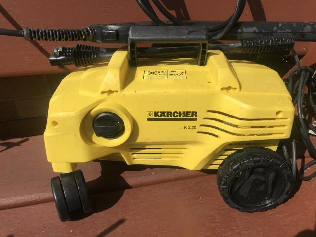 Preview of the first image of Karcher Jet Wash (working Model 2.20) - Machine ONLY.