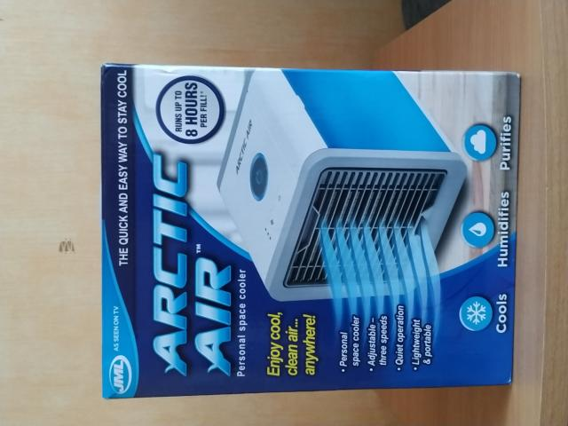 Preview of the first image of JML Artic Air personal space cooler..