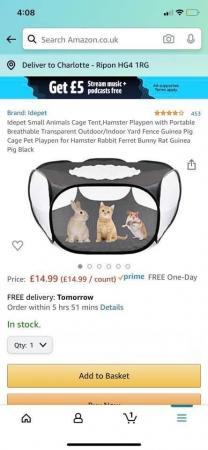 Image 1 of Hamster play pen