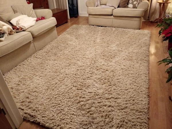 Large Cream Rug Next