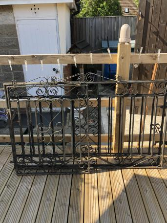 Wrought Iron Gates Second Hand Second Hand Gates And
