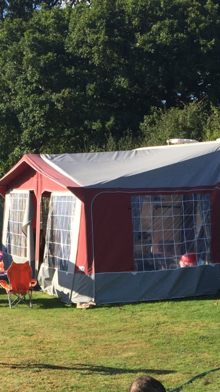 Lovely Burgundy And Grey Isabella Awning Comes With Curtains Flooring This Came A Caravan We Bought & 91+ Isabella Awning 1000 - Isabella Sun Canopy Blue 1000 Cm Carbon X ...