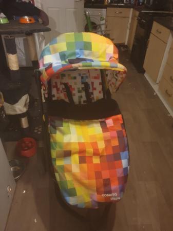 Image 3 of Cosatto rainbow pixel travel system