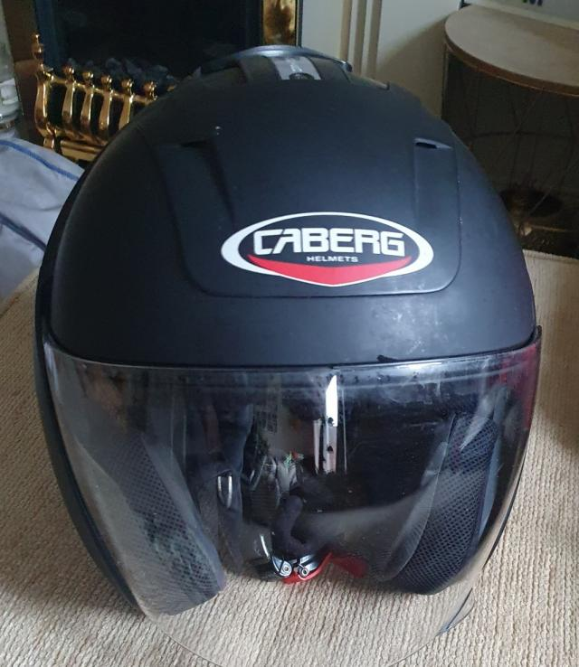 Preview of the first image of caberg open face helmet.