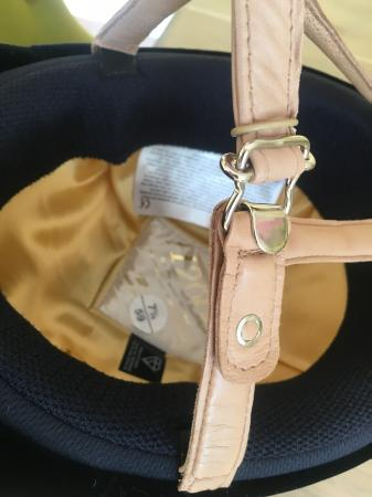 Image 7 of Charles Owen H2000 Riding Hat 7 1/4 / 59 PERFECT CONDITION