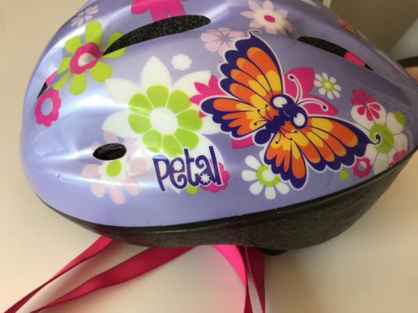 Image 2 of Girls Apollo petal small helmet  50cm to 56cm