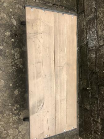Image 3 of HANDMADE GARDEN RUSTIC BENCH/COFFEE TABLE