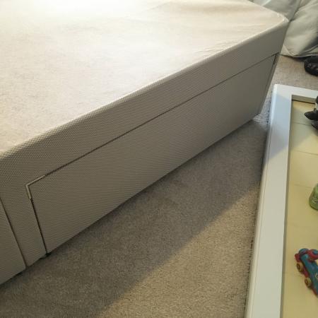Image 3 of Benson Beds. MinnesotaDouble Mattress and Divan Base