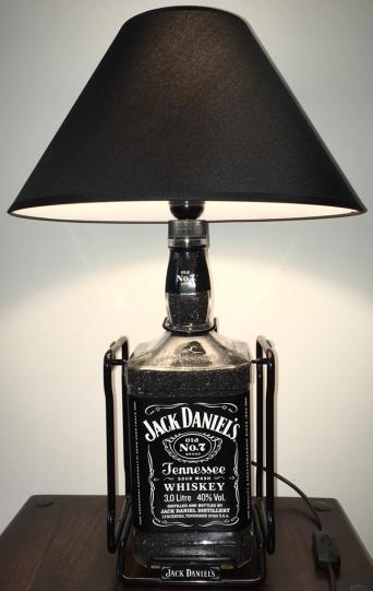 Bottle lamps second hand lighting for sale in the uk and ireland 30 jack daniels bottle lamp aloadofball Gallery