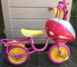 Children's bike and helmet - £10