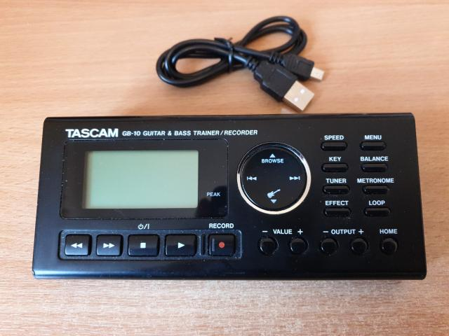 Preview of the first image of Tascam GB- 10 Linear PCM Guitar Trainer..