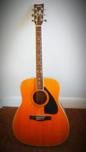 guitar yamaha used acoustic guitars buy and sell preloved. Black Bedroom Furniture Sets. Home Design Ideas