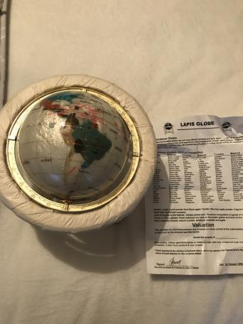 Gemstone globes local classifieds buy and sell in the uk and lapis gemstone globe gumiabroncs Image collections