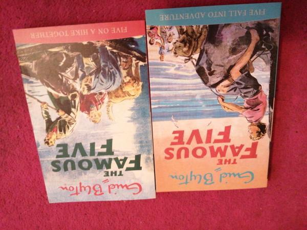 Image 3 of Enid Blyton famous five books, 10 pack