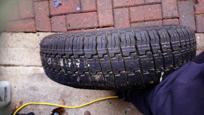 Image 1 of caravan / trailer tyre 155/R12C
