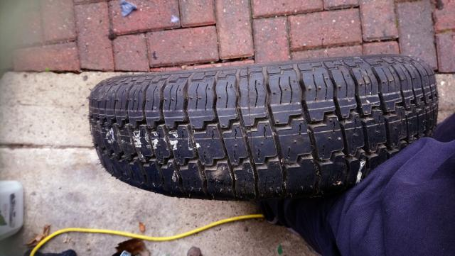 Preview of the first image of caravan / trailer tyre 155/R12C.