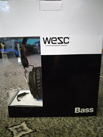 Image 1 of Wesc Bass Headphones Brand New