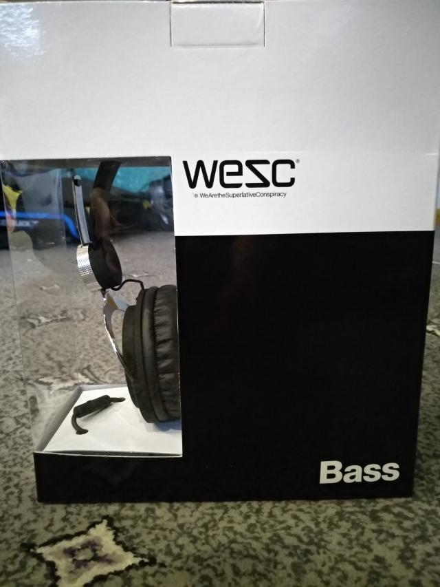 Preview of the first image of Wesc Bass Headphones Brand New.