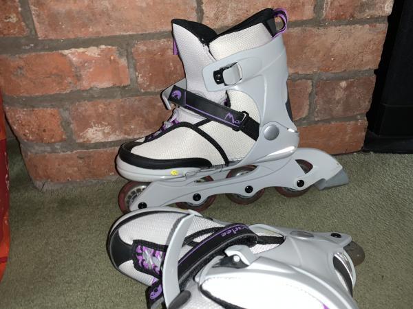 Image 2 of K2 Marlee Girls Adjustable Size Inline Skates