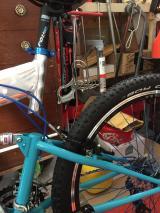 mountain bike full supension - £250