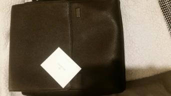 98165f8f31 Mulberry Maxwell Slim Chocolate Messenger bag