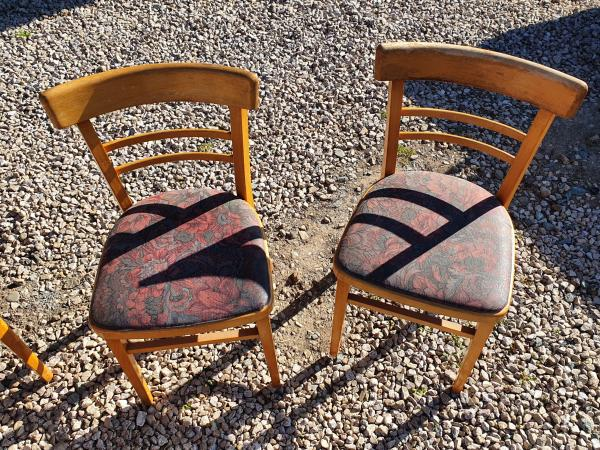Image 2 of vintage,retro,old,table and chairs