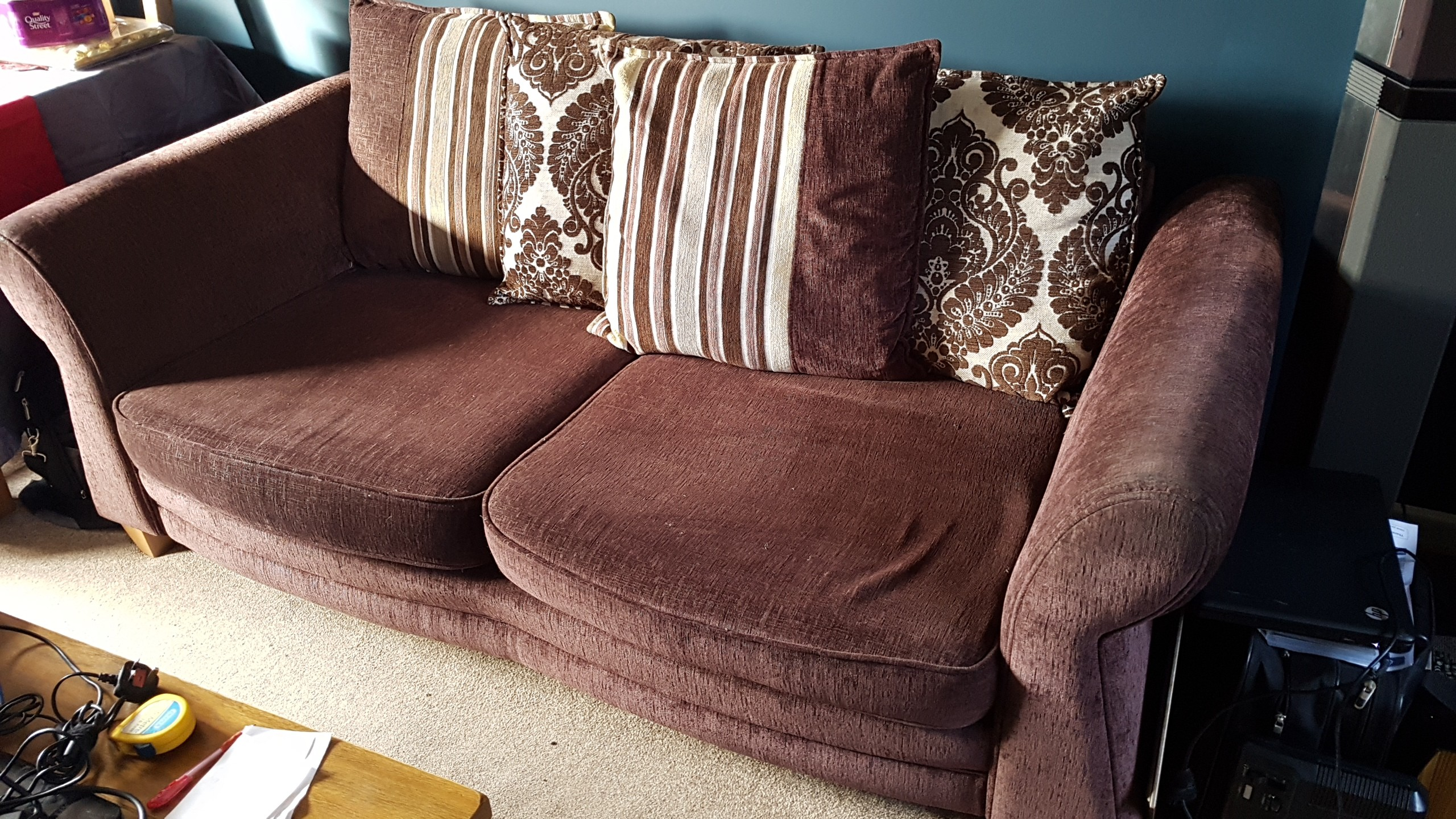 Sofa 2m Simple Cost Around e Has Hardly Been Sat Seater And