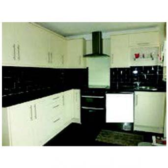 1 Units Dark Grey Worktops Stainless Steel Round Sink Tap 2 Years Old Immaculate Available Mid February Cooker Extractor Also