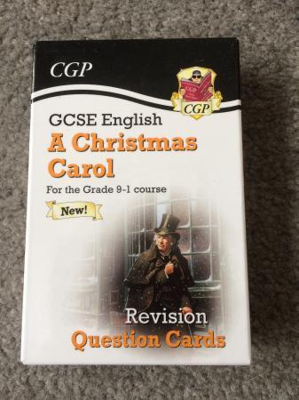 Image 1 of A Christmas Carol - GCSE revision cards