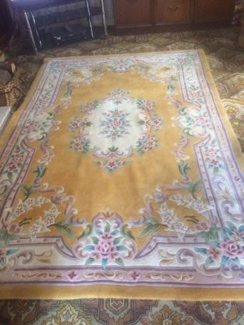 Large Wool Rug For In North