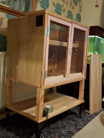 Image 1 of Wooden mice/hamster cage