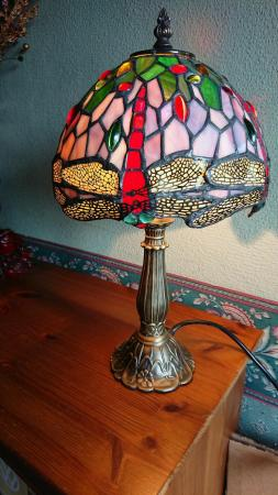 Image 1 of Tiffany style table lamp new