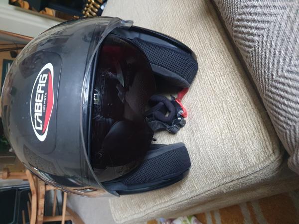 Image 2 of caberg open face helmet
