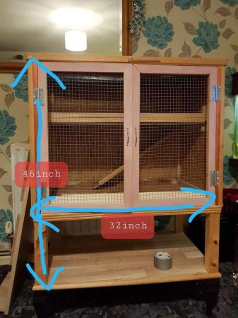 Image 3 of Wooden mice/hamster cage